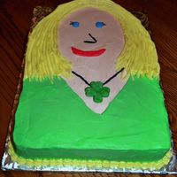 Jewelry Party Cake This cake was for a jewelry party on St. Patrick's Day