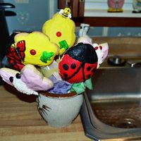 Cookie Bouquet Cookie bouquet from a class I took - wasn't as good as I would like