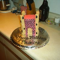 Madeline's Cake This cake my 7 year old daughter helped me make. It was supposed to be more realistic, but this is what she came up with. She had a blast...