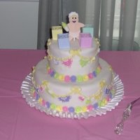May's Shower Cake