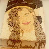 Boy George This cake was for a Boy George fan.