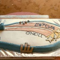 Going To Hang Ten This cake was for a wedding in Santa Barbara, it was pretty big.