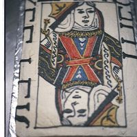 The Queen I drew everything on by hand and then filled it in with butter Cream Icing. It took some time.