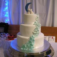 Blue Hydrangea Although this cake was a simple design, I stressed about it for months. The bride wanted orange cake, which I had never made, so I had to...