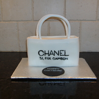 "Coco Chanel This was a ""doggy"" cake made for a dog's birthday party. The person cake looked like a dog bone. I found a dog friendly..."