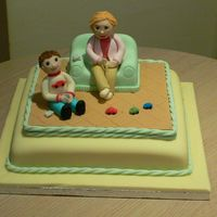 Let's Play Grandma The most fun I have ever had making a cake - immortalising my mum and my son in sugarpaste! A huge thanks to the fantastic Aine2 for her...