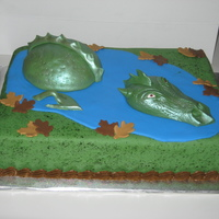 Dragon Cake  This is a cake I made for my son's birthday. He always likes giving me a challenge. This time he wanted a dragon cake and I had no...