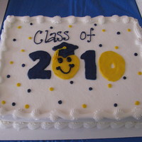 Happy Graduation another graduation sheet display cake