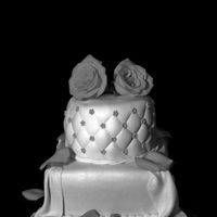 Anniversary Cakes I love Jennifer Dontz work so I try to make a design like hers