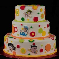 La Vecindad Del Chavo Del 8   I made this cake for my niece is from a very famous spanish cartoon La chilindrina