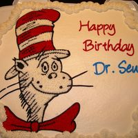 Dr. Seuss Cupcake Cake - Celebration For Dr. Seuss's Birthday I've finally gotten the chance to make this cake to Celebrate Dr. Seuss's Birthday. My twins Pre-K class celebrated today. It was...