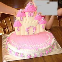 Castle Cake This is the HARDEST cake I have ever made!! This is the first time working with candy melts (thanks, ladies on the candy forum for all your...