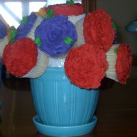 Cup Cake Bouquet For Mothers Day