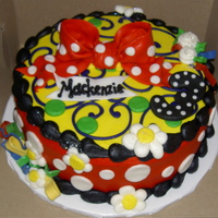 Mickey Mouse Theme Made to match a Mickey Mouse party theme for a little girl.
