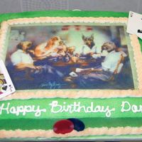 Poker Dogs Poker dogs edible image.