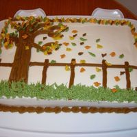Fall Cake   Inspired by CC member