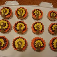 Turkey Cupcakes   Inspired by CC member