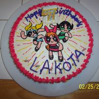 Power Puff Girls power puff girls cake.