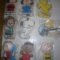 2Nd Go At The Peanuts Gang I made these for an auction to raise money for our church school. They were placed in a Longaberger basket and earned $140. I was happy...