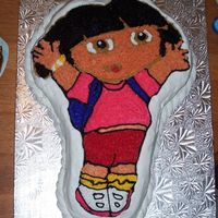 Dora my brother made this cake for a daughter of a friend and everyone loved it.