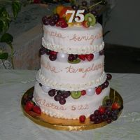 Fruit Of The Spirit Our church had it´s 75 year birthday party here in Argentina. So I made a cake with the Fruit of the Spirit theme. &...