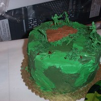 Army Men army men with pieces broken off, dabbed with raspberry filling made it nice and bloody looking!