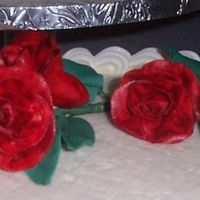 Gumpaste Roses  I have had NO luck with any cutters! i guess i just can't seem to find one that makes big enough roses (at least for me) They aren&#...