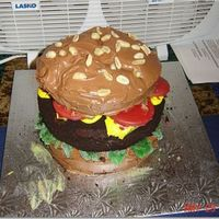 Worst Cake I've Ever Made A hamburger cake for my husband, it was huge and a huge pain. I hated the way it turned out, but everyone else was impressed. I guess that...