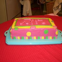 "Baby Shower Cake For Lily Cake I did for a special friend for her ""shower"" - I really just wanted her to know which theme I want her to do in her daughter..."