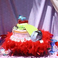 Fancy Nancy For my daughter's 5th birthday based off the Fancy Nancy books.