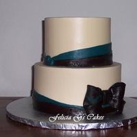 Chocolate And Teal Bridal Shower