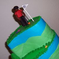 Easter Golfer This gift was for a friend who's husband loves golf and Tiger Woods and his birthday this year was on Easter. First attempt at a...