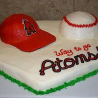 Birthday Cake For Little Leager   This was for my son's Little League team.