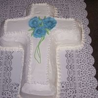 Cross Wedding Cake