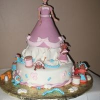 Cinderella Cake This cake was sooo much fun to make! I got the idea from someone in CC of course!!!! The fondant figures are all fondant and took me a...