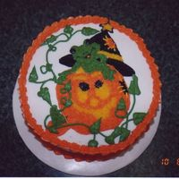 Froggy Pumpkin One for halloween that actually originated as a mistake.