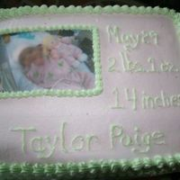 Baby Shower This was made for a coworker who delivered quite early.....the baby is now 4 lbs. :)