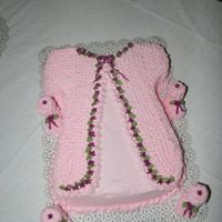 Baby Sweater I made this for a coworkers baby shower. She had twin girls.