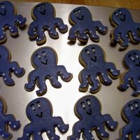 Bake_Sale_Octopus.jpg More cookies for bake sale ~ Penney's cookie recipe, rolled buttercream and royal accents