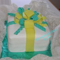 Gift Package Cake