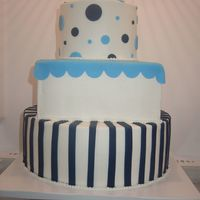 Whimsy Wedding   Here is a picture of my cake with Sugarshacks buttercream dvd tips! TFL!
