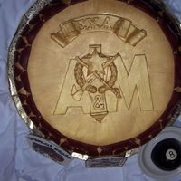 Corps Stack (Top View)   This is the top view of the corps stack, the logo of the Fightin' Texas Aggie Corps of Cadets.
