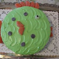 Fish Cake   This was for my daughters bday. She had a beach theme.