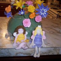 Fondant Fairies Hi All -I saw the pattern on the CC home page and thought I would give it a go. Both are made out of Fondant. The one with yellow dress has...