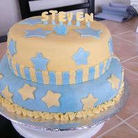 Happy Birthday Steven   I did this cake for my son's 10th birthday.