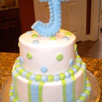 Blue&green Baby Shower