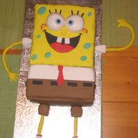 Spongebob   husband requested spongebob ...with rich fruit cake