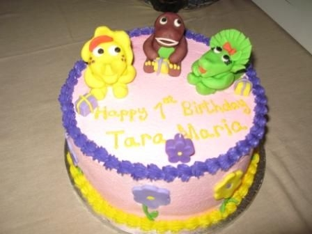Barney And Friends Barney and Friends Fondant Buttercream icing