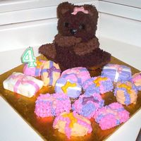 Emily's Teddybear Cake This cake was made in June of 2006. It was my 5th cake ever made. It was a lot of fun! My 2nd specialty pan and the first time I ever made...