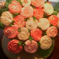 1St Cupcake Bouquet So much fun and a BIG hit!
